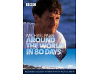 MICHAEL PALIN AROUND THE WORLD IN 80 DAYS 3dvd box set BBC NEW/SEALED Region2 UK