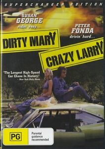 DIRTY-MARY-CRAZY-LARRY-DVD-1974-New-Sealed-ALL-Region-Peter-Fonda-Susan-George