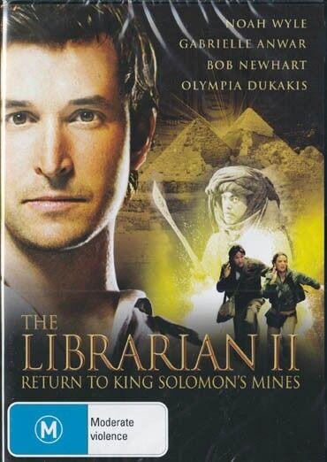LIBRARIAN 2 RETURN TO KING SOLOMON'S MINES - NEW & SEALED REGION 4 DVD