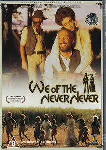 WE OF THE NEVER NEVER - AUSSIE CLASSIC - NEW & SEALED DVD