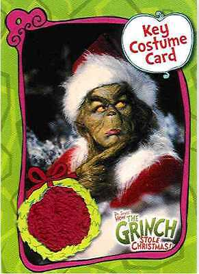 Grinch Who Stole Christmas Costumes (The Grinch Who Stole Christmas Costume Card CC1 Piece of Santa Suit Movie)