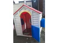 SOLD Childrens out door house