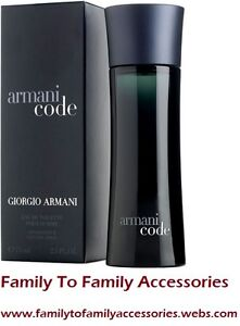 **SUMMER CLEARANCE SALE**ARMANI CODE BY ARMANI FOR MEN-(125ml)