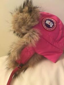 BRAND NEW AUTHENTIC PINK CANADA GOOSE HAT