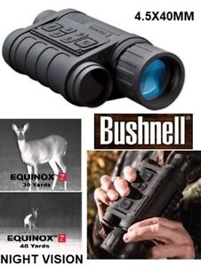 NEW BUSHNELL EQUINOX Z DIGITAL NIGHT VISION WITH ZOOM 4.5X40MM