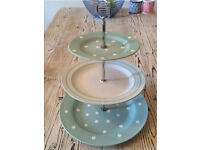 Cake stand for sale - 3 tier plates