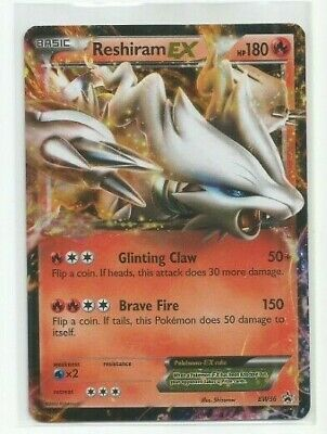 RESHIRAM EX BW36 Holo Ultra Rare Black Star Promo Pokemon Cards Near Mint