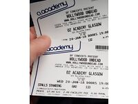 2x Hollywood undead tickets