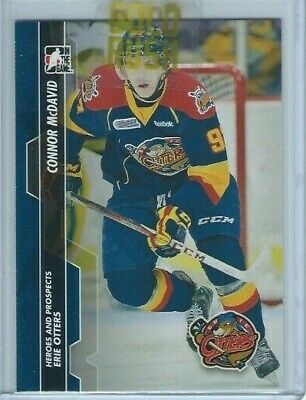 Connor McDavid OHL 2013-14 ITG Heroes and Prospects #5