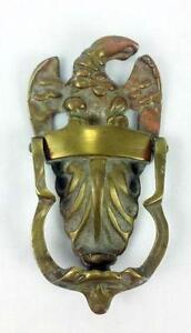 Superbe Antique Brass Door Knocker