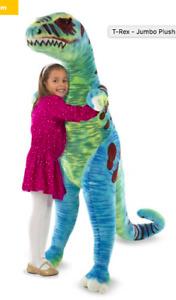Mellissa and Doug Jumbo T-rex - 4' tall