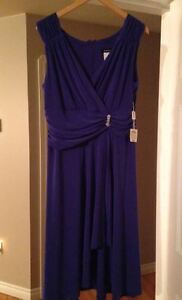 Sears Purplish-Blue Dress by Jessica / Size 16 / Never Worn