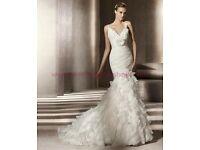 Brand New Pronovias Galante Wedding Dress