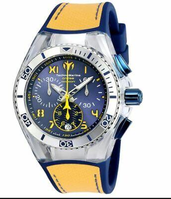 TechnoMarine California Cruise 115015 Strap Chronograph Watch