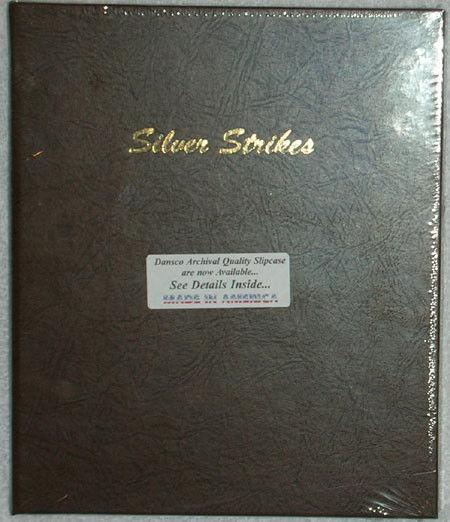 Dansco coin album 7003 silver strikes- 5 plain pages