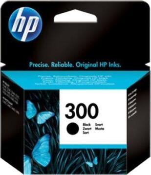 HP 300 - Inktcartridge / Zwart (Cartridges, Computer)