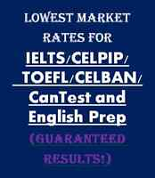 BC's top teacher for IELTS/CELPIP prep! Guaranteed results!