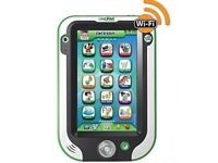 Leappad Leapfrog ultra green free case & games good condition