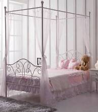 Brand New SINGLE KIDS BED 4 Post Canopy Bed DELIVERED FREE New Farm Brisbane North East Preview