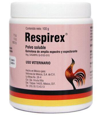 Respirex 100 Gram Water Soluble Rapid Treatment Of Respiratory Diseases