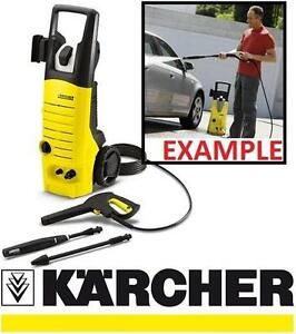 NEW KARCHER ELECTRIC PRESSURE WASHER 1800 PSI - PORTABLE MOBILE PRESSURE WASHERS POWER HAND TOOL WASHING GARAGE
