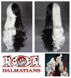 NEW with TAGS: Deluxe Balck/White Cosplay Wig (520-0803)