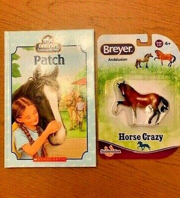 $ REDUCED $ Breyer Stablemates Lot Patch Book & New Horse Crazy Andalusian 1:32