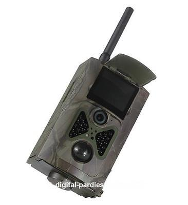 3G 16MP 120° HD Wildkamera HC-550G Fotofalle Überwachungskamera MMS GPRS B-Ware