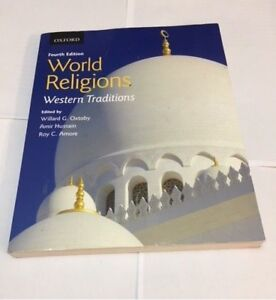 World Religions Western Tradition by Wilard G Oxtoby
