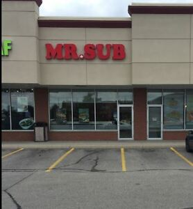 MR SUB Franchise - Waterloo North /for sale