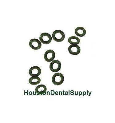 Dental Cavitron O-rings Replacement Kit Green 12 Pcsbag Ultrasonic Insert Rings