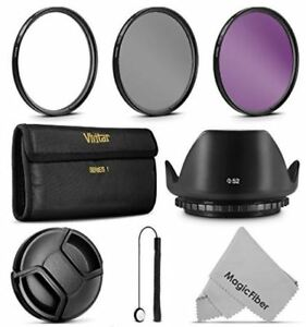 52mm Filter kit for any 52mm Camera, mine was Nikon