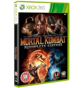 Mortal Kombat 9 Komplete PAL Complete Edition XBOX 360 NEW & SEALED