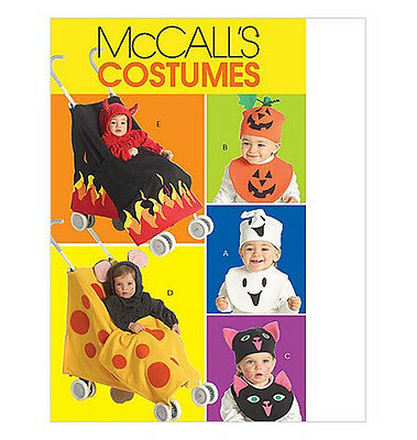Sew & Make McCall's M5501 SEWING PATTERN Childs STROLLER HALLOWEEN COSTUME - Stroller Halloween Costume