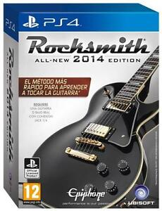 Rocksmith 2014 PS4 edition with Cable