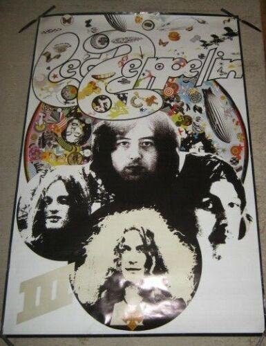 "Led Zeppelin III XL REALLY BIG  Poster 59 3/4"" x 39 3/4"" Vintage NICE SHAPE!"