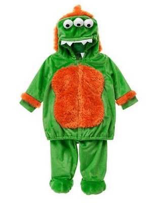 NWT Halloween Gymboree Green 3 Eyed Costume Size 3-6 Months](Size 3-6 Month Halloween Costumes)
