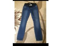 meternity jeans size 8 new look
