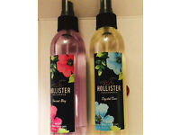 hollister scented body spray mist fragrance perfume summer body beach