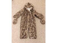 Julien Macdonald leopard snowsuit baby 12-18
