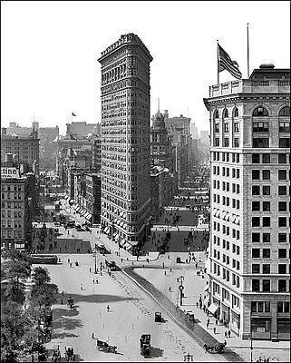 Flatiron Building #1 Photo 8X10 - New York 1908 NYC