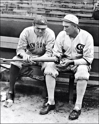 Babe Ruth Joe Jackson Photo 8X10 Yankees White Sox  Buy Any 2 Get 1 FREE