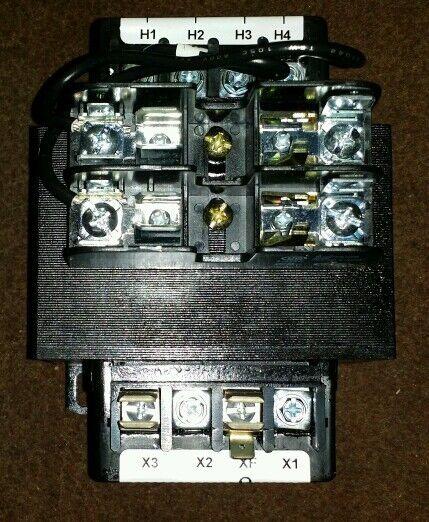 ABB X4150PSF1 Control Transformer 150 va 480/240/208 pri 120/24 secondary cpt
