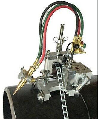 New B B Pipe Tools - 8001 - Automatic Chain Pipe Cutter Beveling Machine