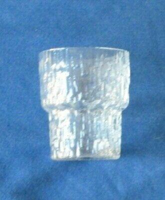 Vintage Iittala PAADAR Shot Glass Tapio Wirkkala