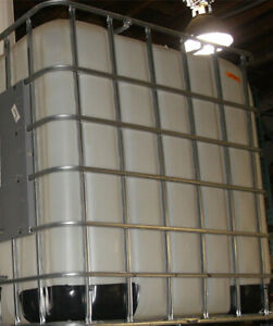 Used Schütz Empty IBC Tote Plastic Storage Tanks
