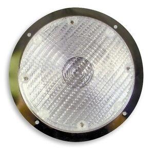 PLAFONNIER WELDON GH9 Bulb/Inc. 906 Bulb Clear, S/S, Rec. *NEW*