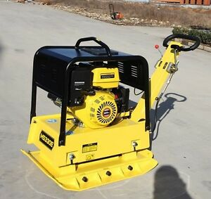 NEW 13HP REVERSIBLE HYDRAULIC PLATE COMPACTOR