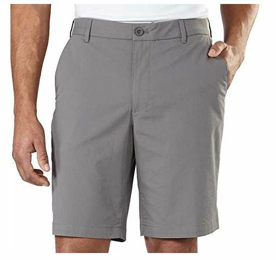 IZOD Men's Performance Athletic Shorts, Stretch Fabric, Choo