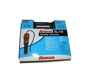ROBINAIR ELECTRONIC REFRIGERANT LEAK DETECTOR XL-1A WITH SERIAL NUMBER